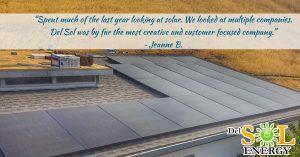 Del Sol Energy Testimonial