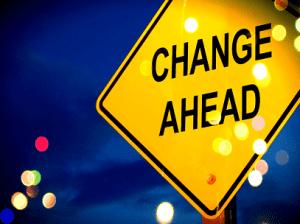 A Change Ahead